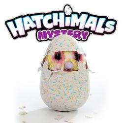 HATCHIMALS misterio huevo electrónico mascota colorido moteado huevo con alas extensibles nueva música y juegos