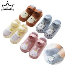 Baby Shoes Newborn Girls First-Walkers Rubber-Sole Floor Toddler Boys Cotton Summer Autumn