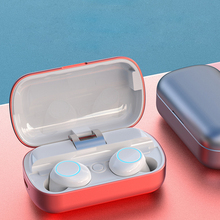 цена на True Wireless Earbuds Stereo Bluetooth 5.0 Headphones Noise Cancelling in-Ear Earphones IPX5 Waterproof ports Earpiece