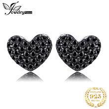 Jewelrypalace модные 029ct естественным черной шпинели сердце