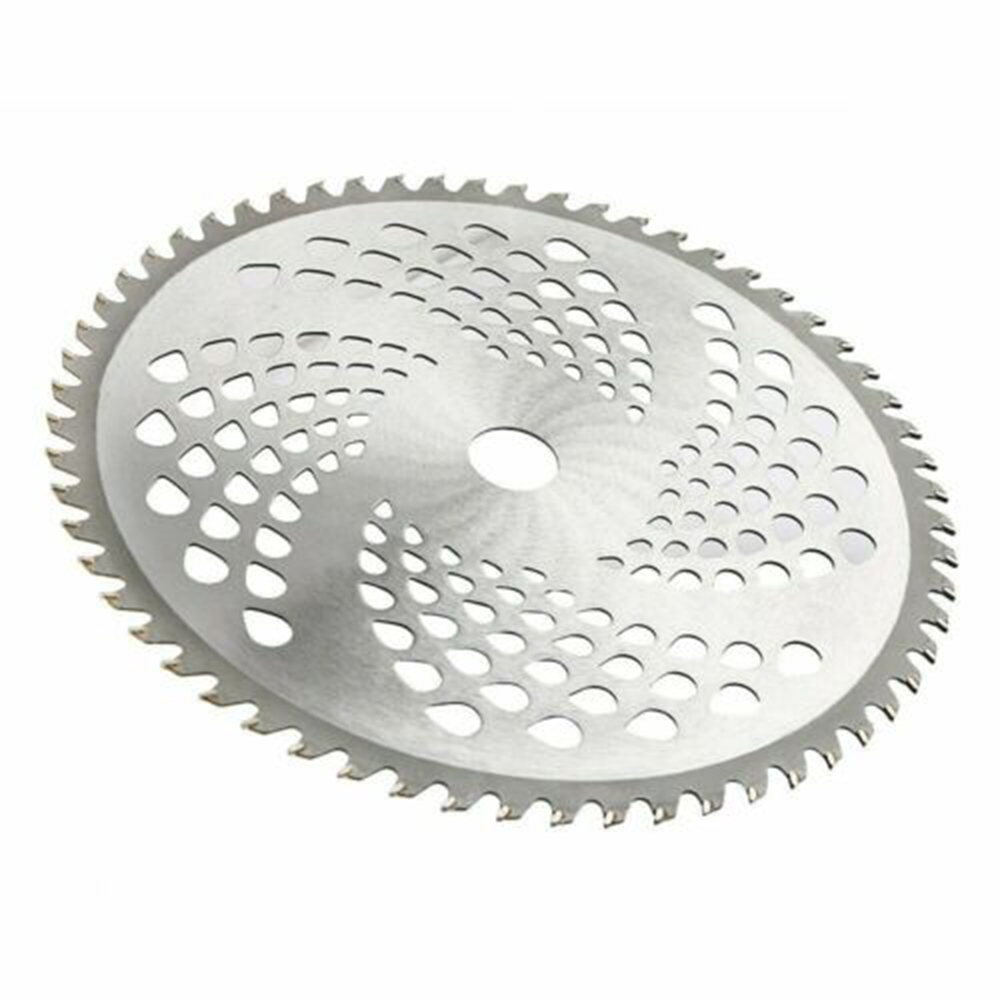 60Teeth Metal Disc 255mm 25.4mm  60T Lawn Mower Parts Grass Eater Trimmer Head Brush Weeds Cutter Tools