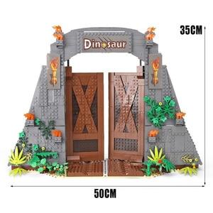 Image 5 - Creator Jurassic era Park Rampage Tyrannosaurus Rex Set compatible with 75936 Building Blocks Bricks Toy Christmas Gift