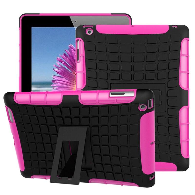 Планшет чехол для Apple iPad 2/3/4 чехол Гибридный чехол в виде брони жесткий чехол для iPad Mini 3 крышки Аксессуар A1416 A1430 A1403 9,7 fundas
