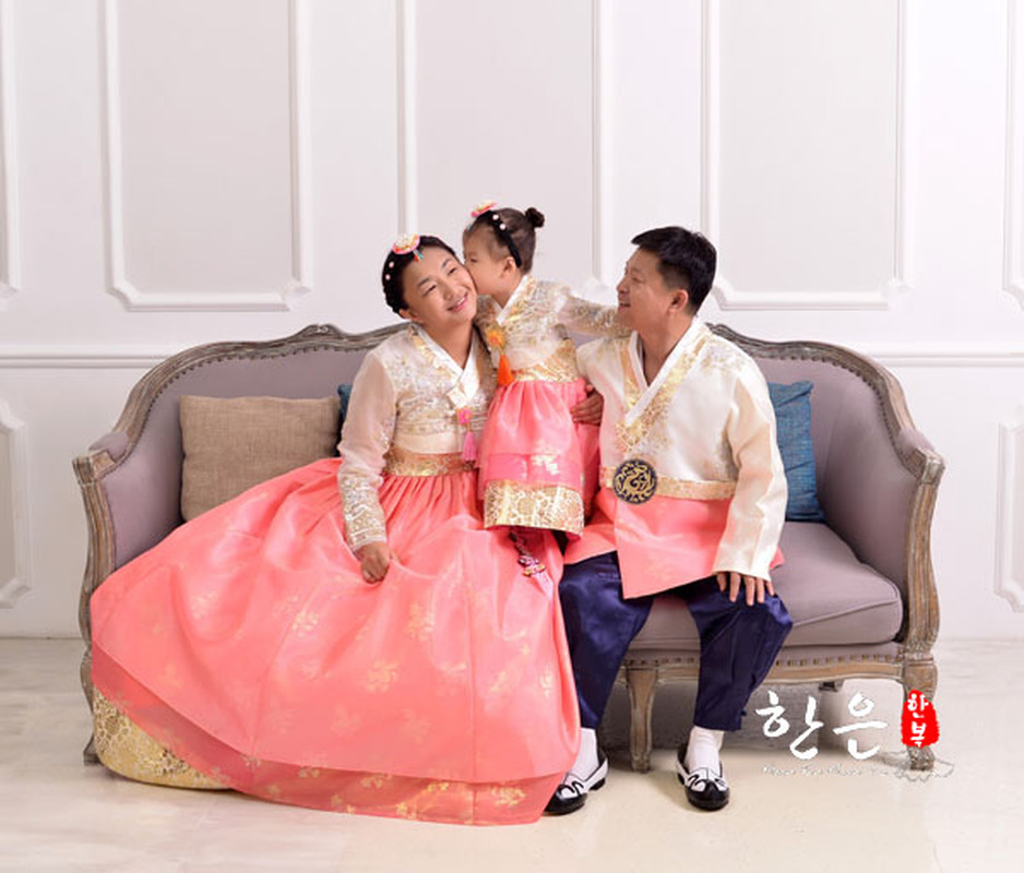 South Korea Imported Fabric / Wedding Family Suit Hanbok / Couple Hanbok / National Costume