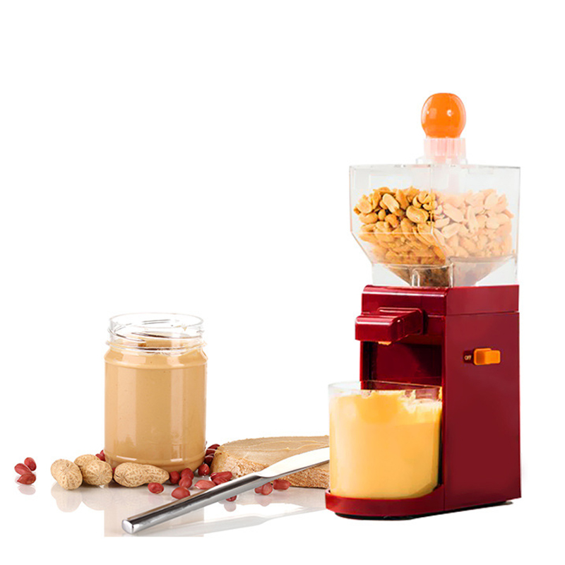 Jamielin Peanut Butter Machine Electric Sauce Pressing Machine Peanut Butter Maker Mini DIY Making Peanut Grinder