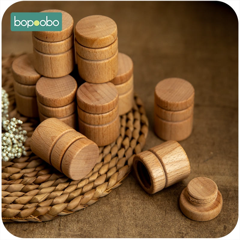 Bopoobo 1pc Baby Toys Wooden Baby Souvenir Gift Tooth Collection Box Children's Deciduous Teeth Box Toys Building Blocks