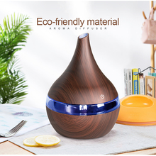 Hot 300ml USB Electric Aroma air diffuser wood Ultrasonic air humidifier Essential oil Aromatherapy cool mist maker for home цена и фото