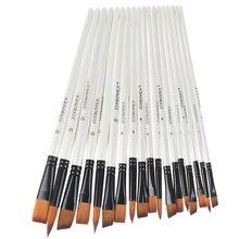 6 шт художественные кисти для рисования нейлоновая деревянная