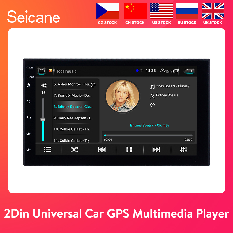 "Seicane Universal Android 8.1 7"" 2Din Car Radio Touchscreen GPS Multimedia Player For Nissan TOYOTA Kia RAV4 Honda VW Hyundai(China)"