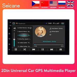 "Seicane Universal Android 8.1 7"" 2Din Car Radio Touchscreen GPS Multimedia Player For Nissan TOYOTA Kia RAV4 Honda VW Hyundai(China)"