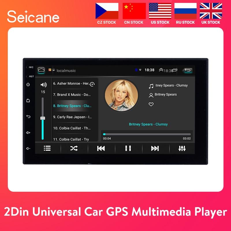 "Seicane Universal Android 8.1 7"" 2Din Car Radio Touchscreen GPS Multimedia Player For Nissan TOYOTA Kia RAV4 Honda VW Hyundai"
