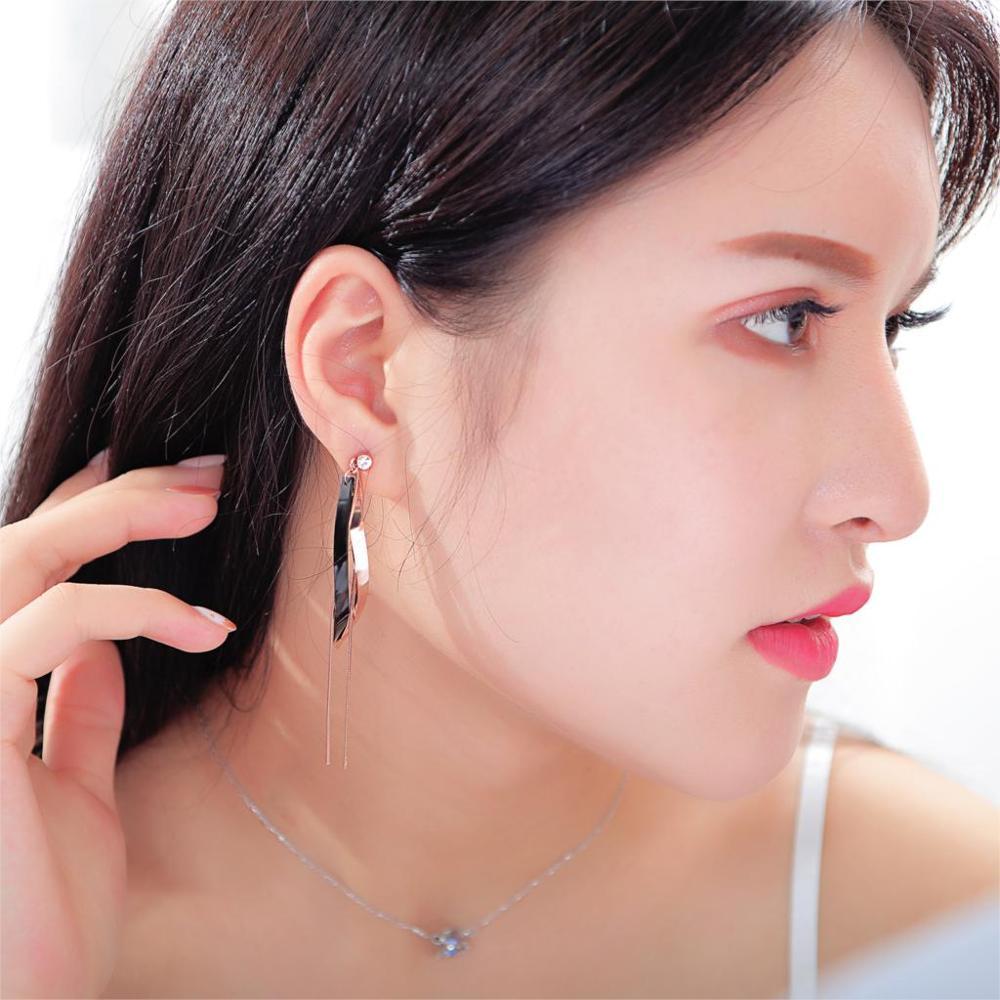 Marque bohême mode bijoux forme inversée frange longue gland boucles d'oreilles déclaration bijoux femmes cadeau breloques boucles d'oreilles coeur cadeaux