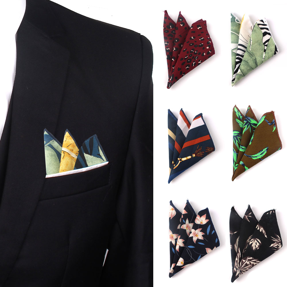 Soft Chiffon Pocket Square For Women Casual Female Hanky Mens Handkerchiefs Suits Square Handkerchief Towels For Party Scarves