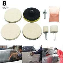 Лидер продаж набор для полировки стекла и удаления царапин автомобиля