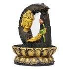 Resin Gold Buddha Fe...