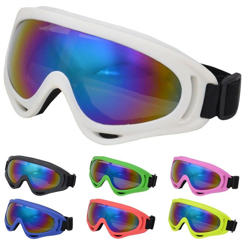 Winter Outdoor Skiing Skating Safety Eyewear Men Women Shockproof Ski Snowboard Glasses Windproof UV400 Snowmobile Goggles