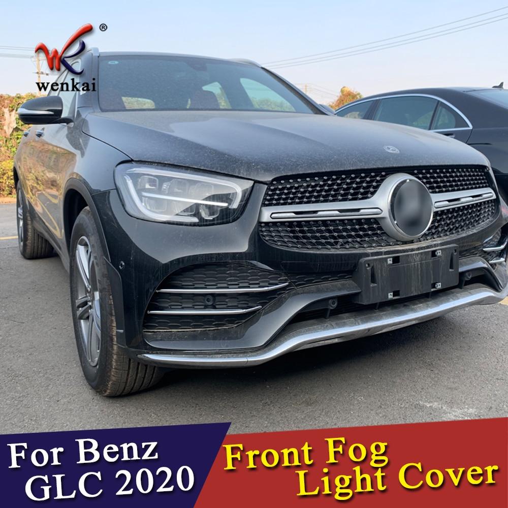 Fit For Benz GLC GLC300 2016 2017 2018 2019 Chrome Body Side Door Molding Cover Trim