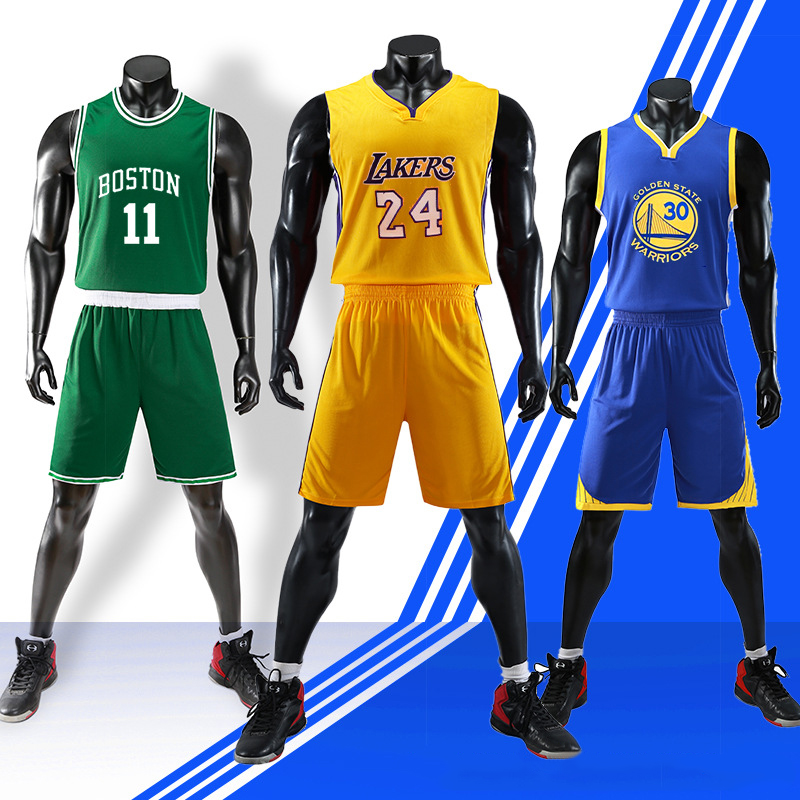 Jersey-Set Ball-Uniform Two-Sets NBA Can-Be-Arbitrarily-Selected Printed Star