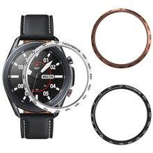 Модный металлический БЕЗЕЛЬ для samsung galaxy watch 3 стальное