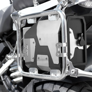 Image 5 - Big sale! Tool Box For BMW r1250gs r1200gs lc & adv Adventure all years 2012 for BMW r 1200 gs Left Side Bracket Aluminum box