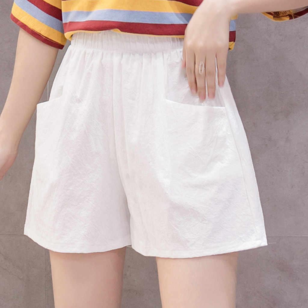 High-waisted Cotton Bermuda Shorts  Summer cotton bermuda shorts  Culottes shorts