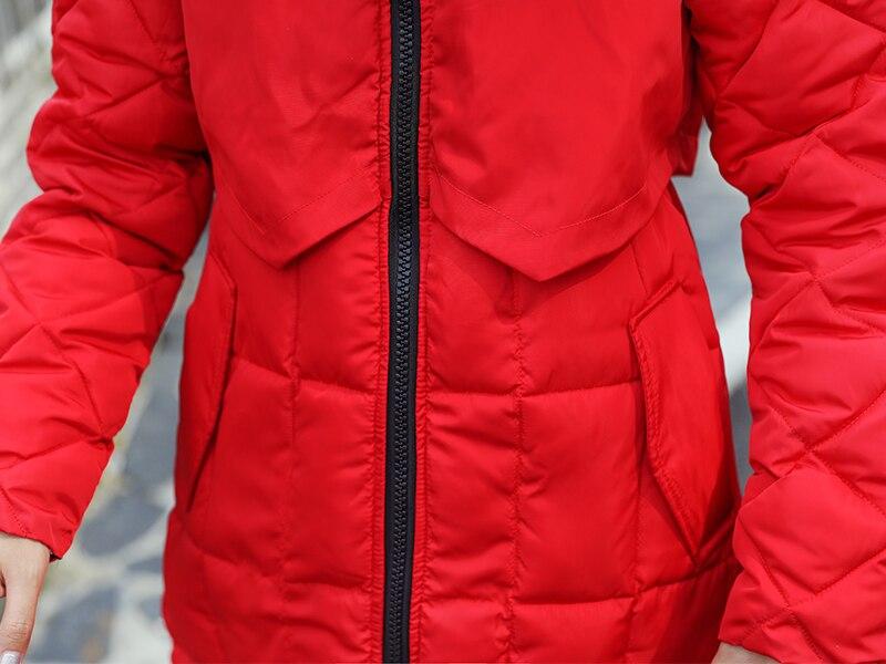 Cotton Hooded Fur Women 21