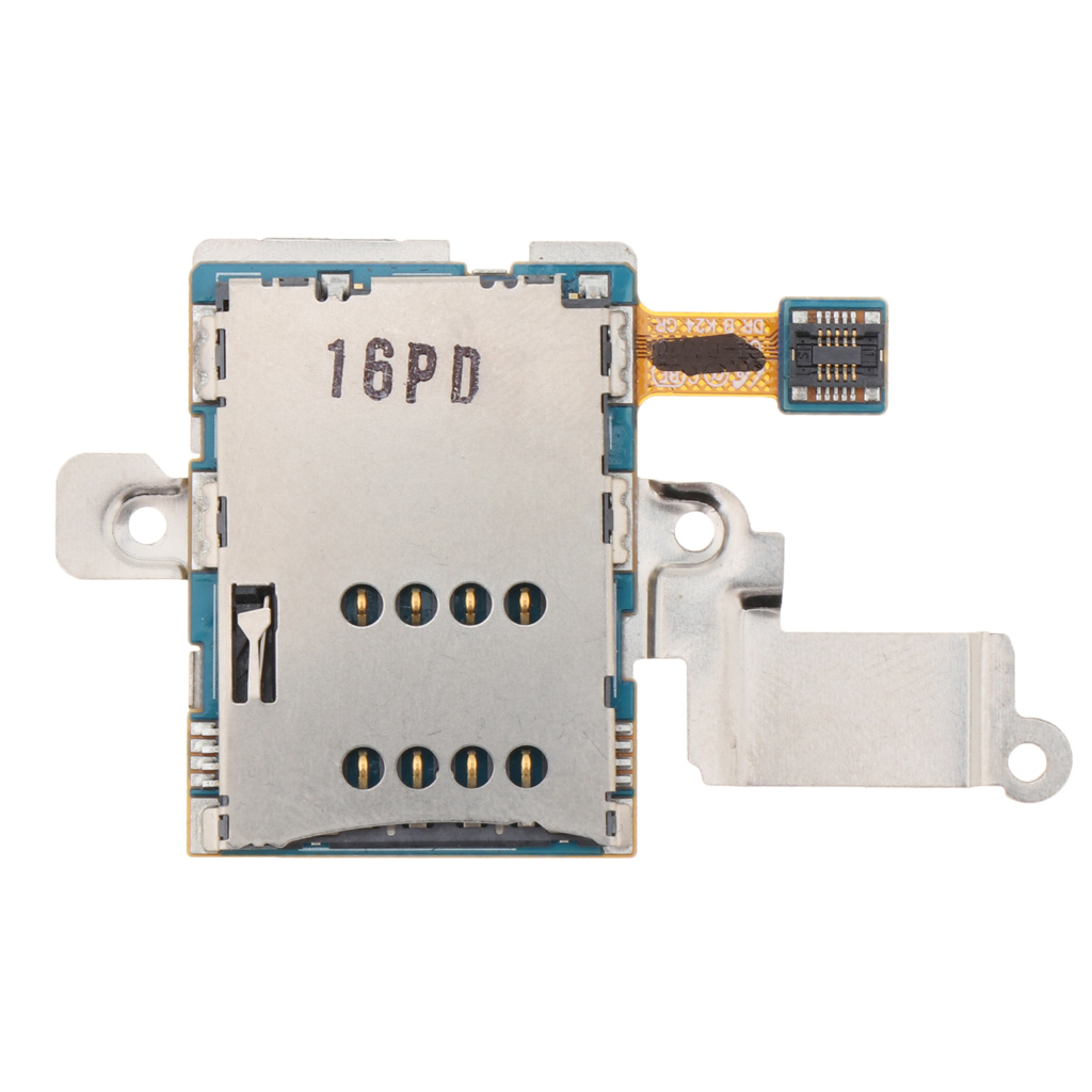 SIM Socket Card Reader Slot Flex Compatible With Samsung Galaxy Note 10.1 GT-N8000 GT-N8010