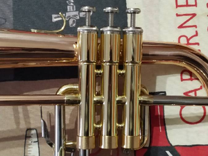 Image 2 - Buluke المهنية الوردي النحاس Flugelhorn l ضبط Bb فلوجل القرن مع كيس والفم