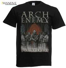 цена Men T shirt Fashion Arch Enemy War Eternal Cover Summer Style funny t-shirt novelty tshirt онлайн в 2017 году