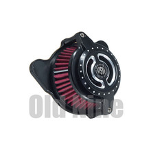 цена на RSD Motorcycle Air Cleaner Intake Filter CNC For Harley Sportster XL 883 1200 Forty Eight Softail Dyna Touring Street Glide