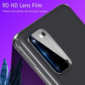 Soft Glass Tempered Camera Len Film For Samsung Galaxy S20 Ultra / S20 Plus / S20 Camera Protector Flim Antiscratch HD Film image