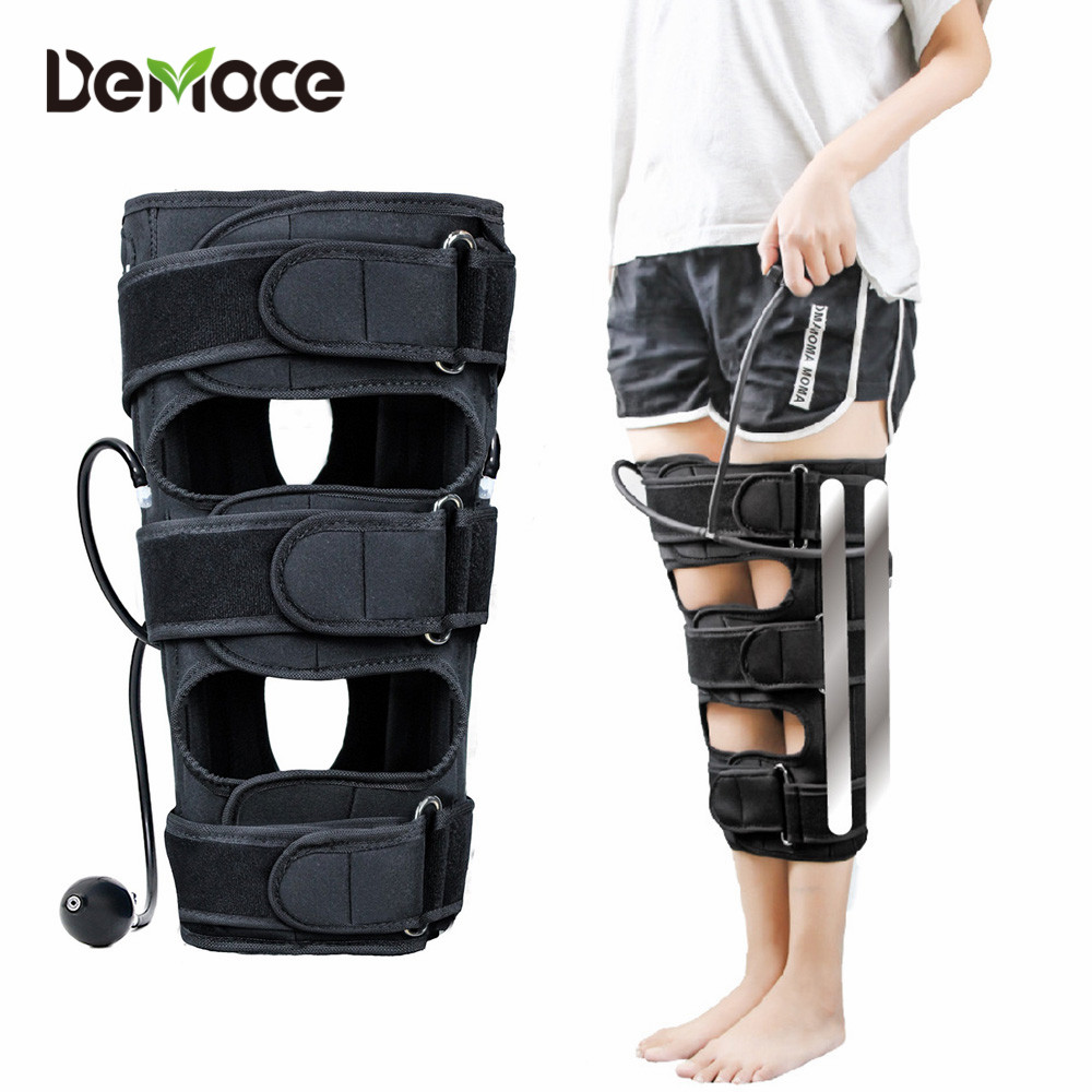 Effective O/X type Leg Bowed Legs Knee Straightening Correction Band Inflatable Air Pump Posture Corrector Beauty Leg Band Belt