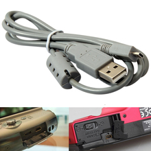 5 x USB 8 Pin Data SYNC Cable Cord for Nikon for Sony Camera Cybershot 1M