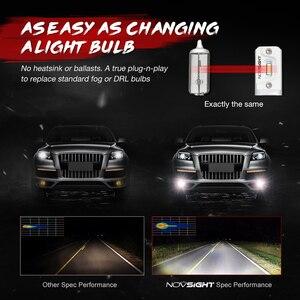 Image 5 - NOVSIGHT llevó la lámpara de niebla H11 H8 H9 H7 H3 H1 bombillas de luz antiniebla coche faro 9005 HB3 9006 HB4 2000LM 6000K 60W faro 2 uds