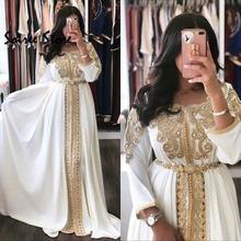 Caftan марокканские вечерние платья белая абайя Дубай Официальные