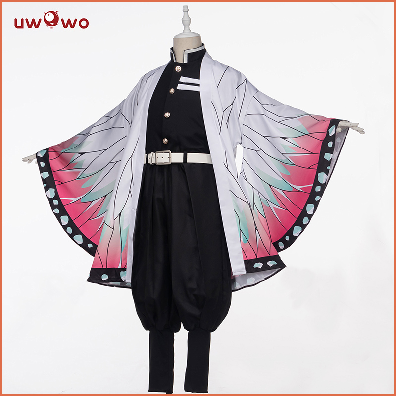 Pre-sale Uwowo Demon Slayer: Kimetsu No Yaiba Shinobu Kocho Cosplay Costume Demon Slaying Corps Uniform Man Costume