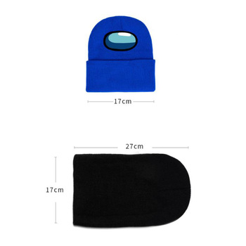 40 style Among Us Game toy Printing Harajuku Hats Women Autumn Warm Street Men Winter Hat Cotoon Fashion Ski Caps For Boys 6