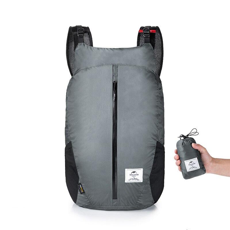 30*20*48cm Water Resistant Sports Bag Lightweight Running Folding Pack Backpack