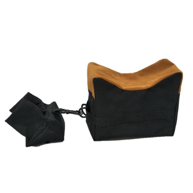 Front+Rear Bag Support Rifle Sandbag without Sand Sniper Target Stand Hunting Accessories 600D Oxford Cloth Sandbag Outdoor Tool|Hunting Gun Accessories| |  - title=