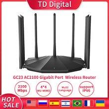 Répéteur wi-fi Gigabit sans fil GC23 AC2100, 7x6bi, antennes à Gain élevé, avec IPTV, Plug And Play