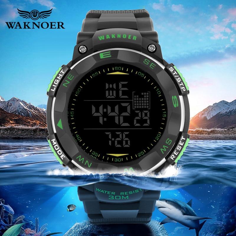 Sport LED Wrist Watch Men Masculino Relogio Waterproof Silicone Digital Military Kids Watches Hour Children Homme Reloj Saati