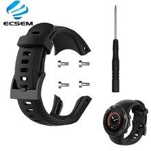 Polsband Voor Suunto 5 Smart Watch Accessoires Outdoor Strap Vervanging Siliconen Armband Verstelbare