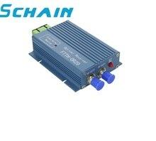 الألياف جهاز استقبال بصري FTTH استقبال AGC مايكرو SC APC موصل مزدوج مع 2 منفذ الإخراج WDM ل PON FTTH CATV الارسال