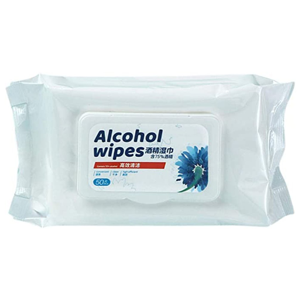 75% Disinfecting Alcohol Wet Wipes Disposable Hand Cleansing Skin Wipes Disinfection Disinfecting Alcohol Wipes