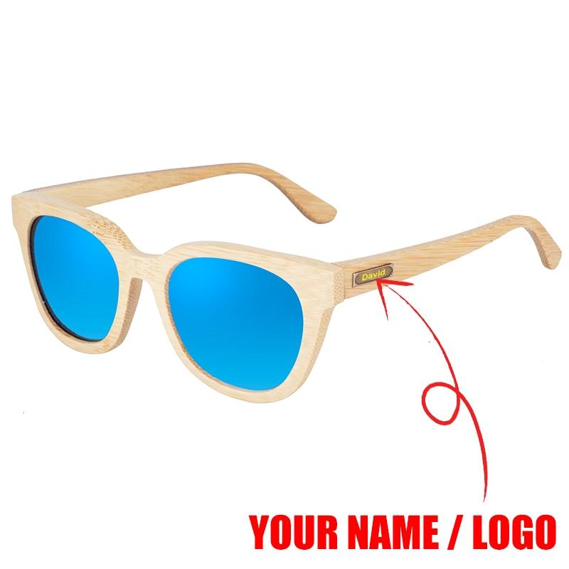 Sunglasses Women Men BOBO BIRD Customize Polarized Text Logo UV Protection Eyewear Ladies Summer Sun Glass in Gift Box Dropship