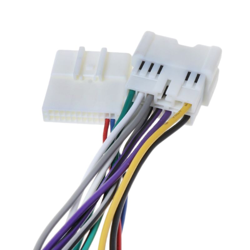 Cables <font><b>Adapters</b></font> <font><b>Sockets</b></font> ISO Wiring Harness Connector Adaptor For RENAULT 2012+/DACIA <font><b>2011</b></font>+(select model) Automobiles image