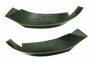 Image 4 - P Style F32 Real Carbon Front Bumper Splitters for BMW F32 M Tech Bumper Only 1pair