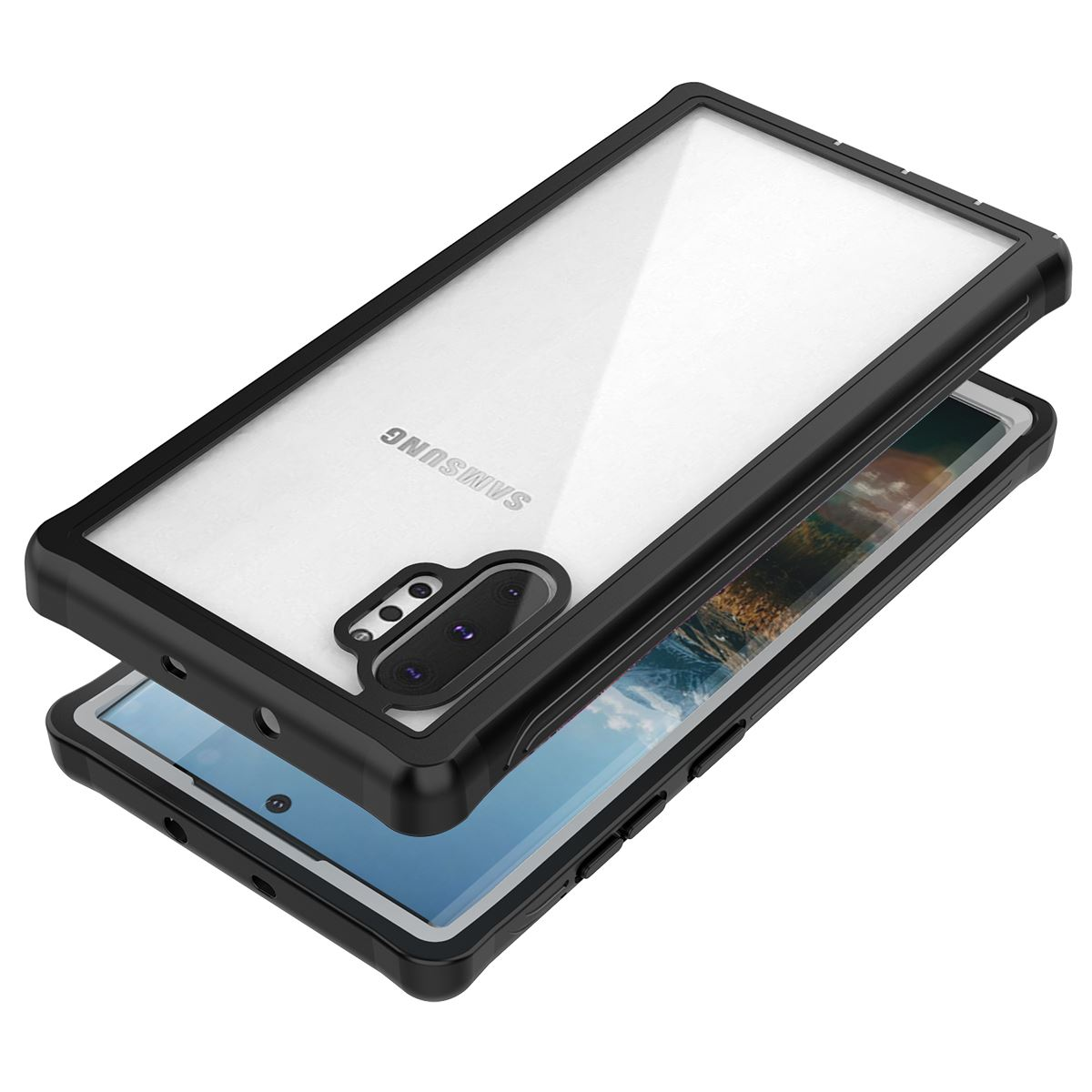 Galaxy Note10+ タフケース 耐衝撃