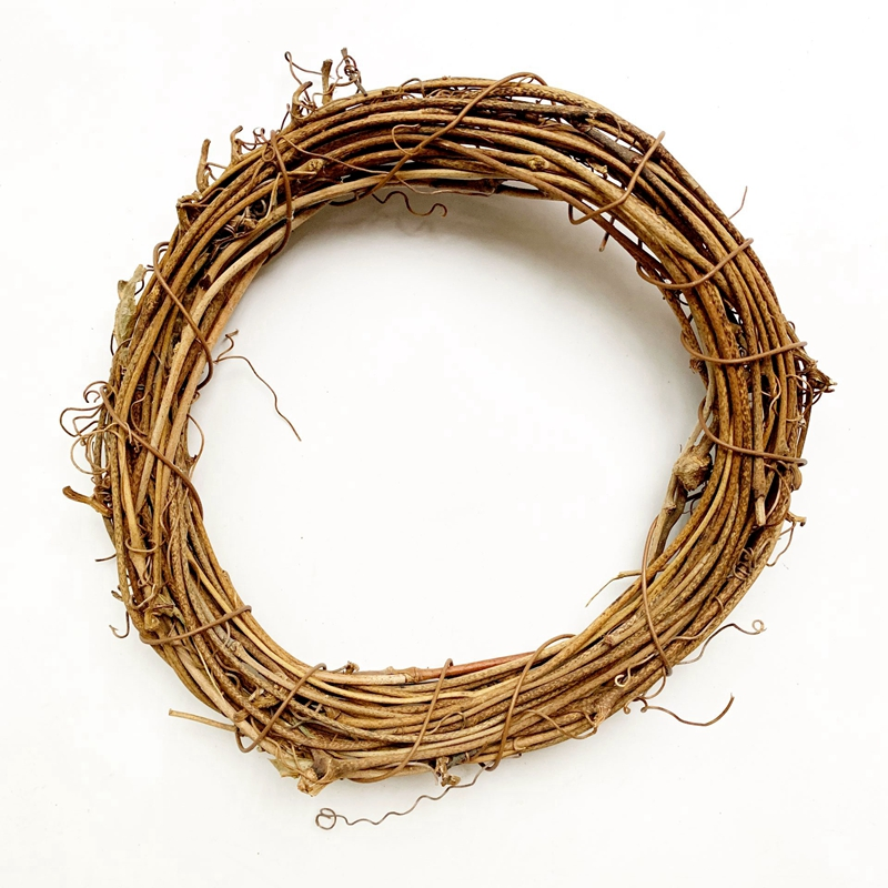 Handmade Natural Rattan Hoop Vine Circle Loop DIY Accessories Crafts Components Wholesale Dropshipping