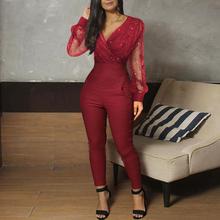Czerwona elegancka sukienka z dekoltem w szpic długie rękawy długość płaszcza suknie ślubne suknie na oficjalne okazje suknie wieczorowe tanie tanio tanpell V-neck NONE Długość podłogi Poliester Proste Formalna wieczór REGULAR Pełna 20394066 Jersey simple empire